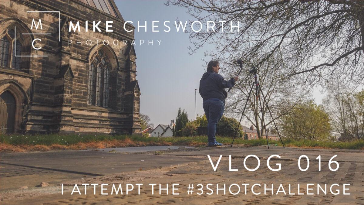 Vlog 16 - Taking on the 3shotchallenge Vlog Thumbnail
