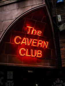 The Cavern Club Sign